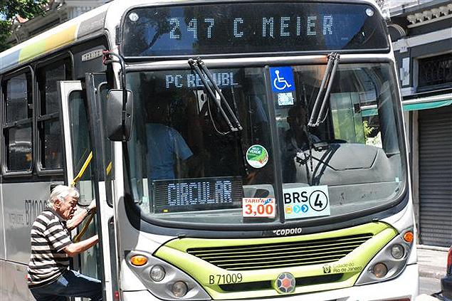 El pasaje de ómnibus subió de 2,75 a 3 reales. Fotografía: Milli Legrain