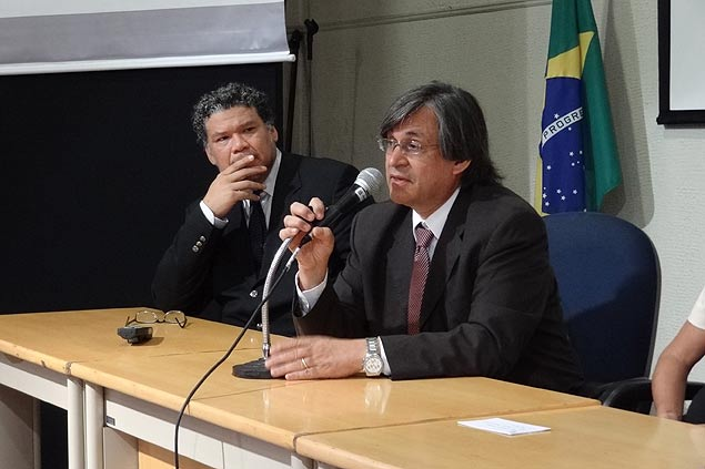 Andrés Ramirez inaugura la oficina de la ACNUR en São Paulo. Fotografía: ACNUR