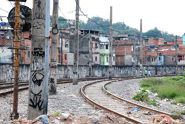 La entrada a la comunidad de Jacarezinho, en la zona norte de Río. Fotografía: Milli Legrain