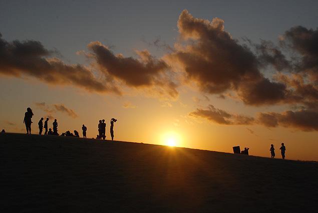 Ubicado en el litoral del estado de Espíritu Santo, Itaúnas es conocido por sus atardeceres