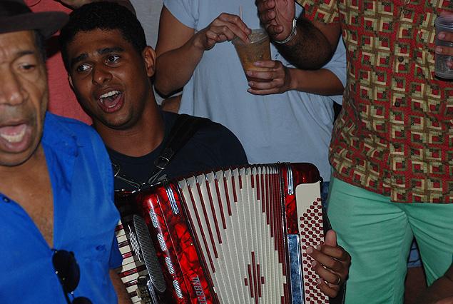 Azulão, leyenda del forro, originario de Pernambuco. Fotografía: Milli Legrain
