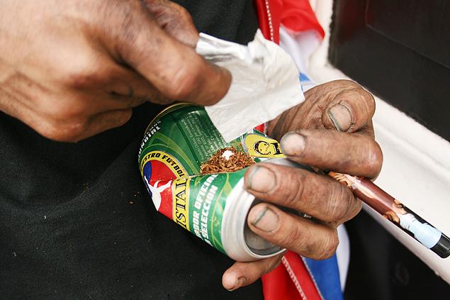 La pasta base es una de las drogas más problemáticas debido a su bajo coste y su alto nivel de adicción. Fotografía: José Antonio Bautista.