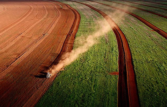 En Brasil, el sector agrícola representa casi el 6% del PIB. Fotografía: Eduardo Knapp/Folhapress.