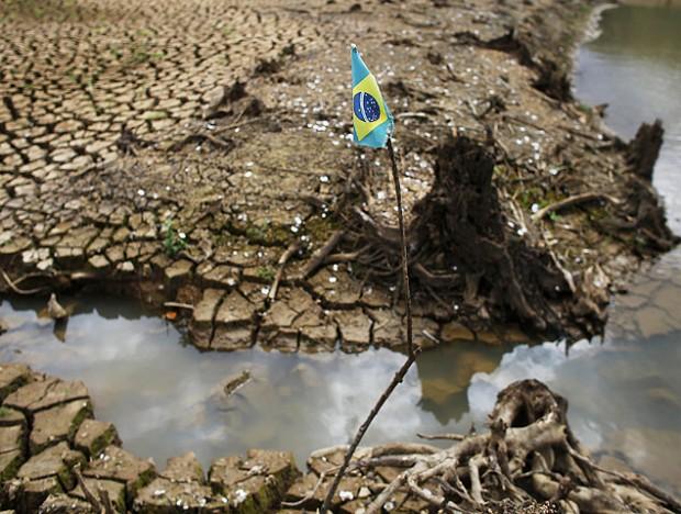 Una imagen actual del estado en que se encuentra el sistema Cantareira. FotografíaNacho Doce/Reuters