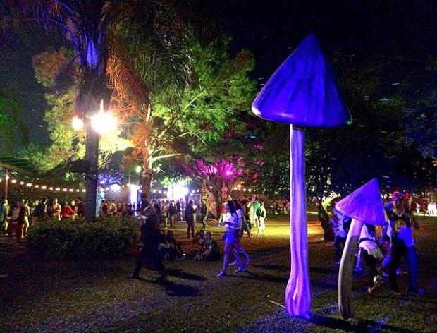 Otra postal del festival de música electrónica Tomorrowland. Fotografía: Carlos Turdera.
